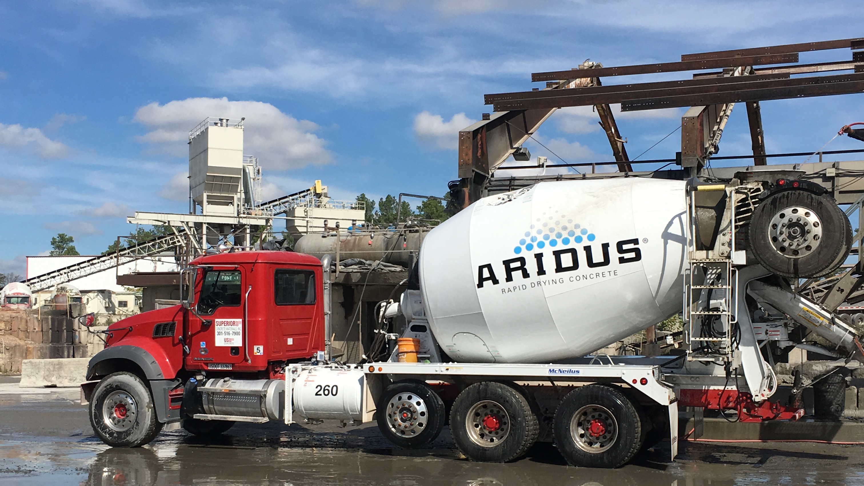 Ready Mix Concrete Delivery In Washington Dc And Northern